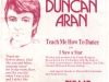 Duncan Aran single