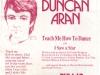 Duncan Aran single